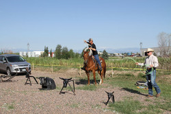 Roping Practice After Church