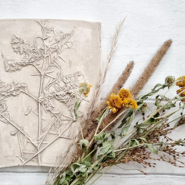 Botanical Relief Workshop (Nov)
