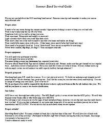Summer Band Survival guide 2020.JPG