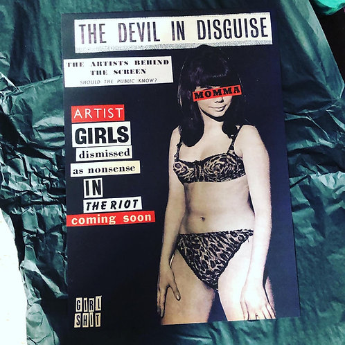 'The devil in disguise' A3 print