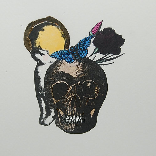 'VANITAS FOR GIRLS'(gocco print)