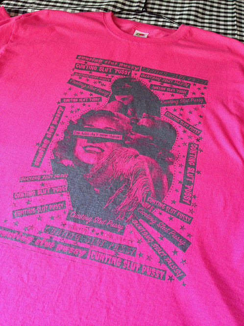 It's...'Miss CUNTING SLUT PUSSY' to you tshirtPINK (XL)