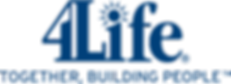 4 Life Logo blue.png