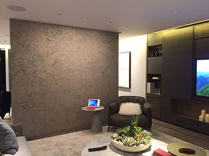 Indoor limestone