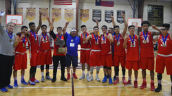 2016 TCAL 1A Basketball Champions