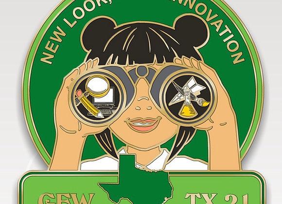 2021 GFW Regional Pin Set