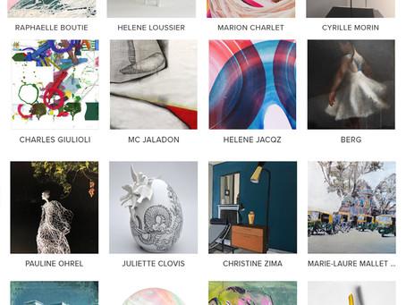 Art is all you need IV - du 28 novembre au 11 janvier 2020, Galerie Mondapart, Paris.