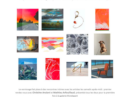 Art is all you need V, galerie Mondapart, Paris