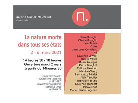 La Nature dans tous ses états, exposition collective du 2 au 6 mars - Galerie Olivier Nouvellet