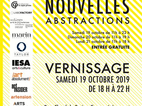 Salon Réalités Nouvelles, Abstractions - du 19 au 21 Octobre 2019, Parc Floral, Paris
