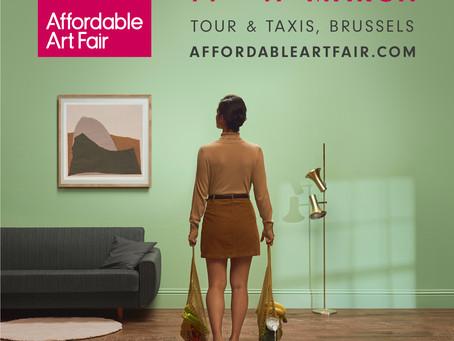 Affordable Art Fair, Brussels - du 14 au 17 mars
