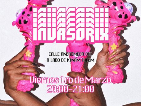 """INVASORIX : """"METALE LA MANO A SU PUESTO V.I.P.!"""""""