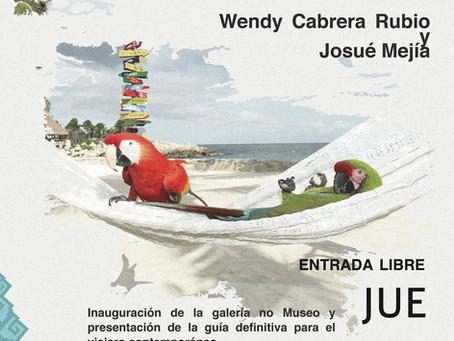 Wendy Cabrera Rubio y Josué Mejía