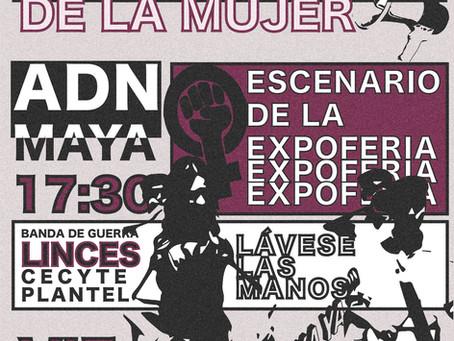 Día Internacional De La Mujer ADM MAYA + LINCES DE TULUM