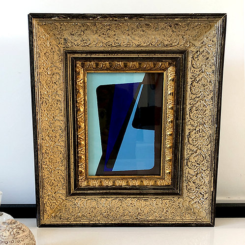 Vintage Gilt Frame with Ib Geertsen hand painted copy