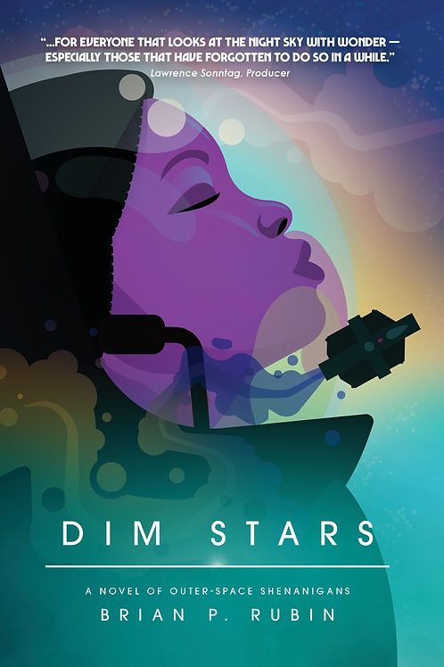 Signed copy of Dim Stars
