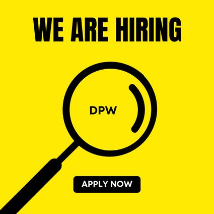 DPW Job Opening
