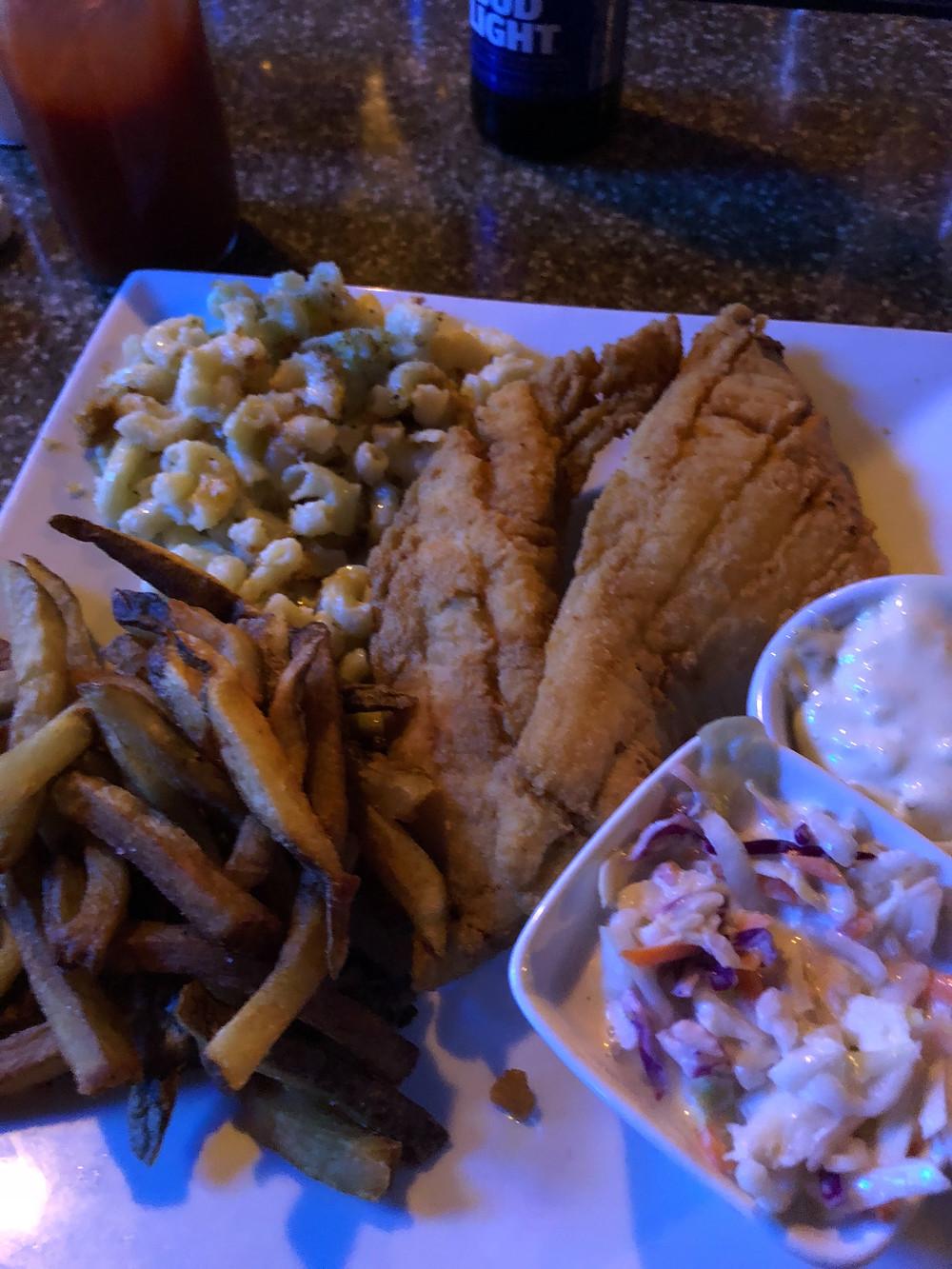 Fish fry at Ellas NY