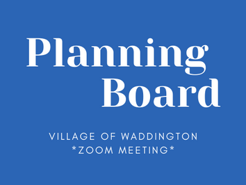 Planning Board Meeting: Jan 14, 6pm