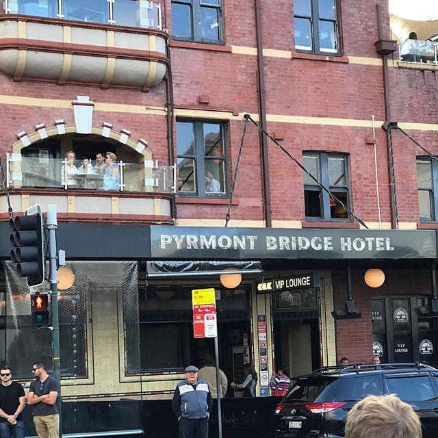 Pyrmont Bridge Hotel Sydney Australia