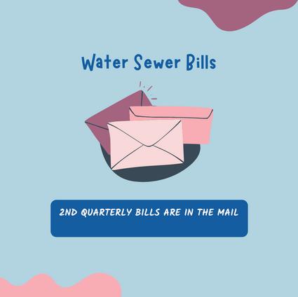 Water Sewer Bills