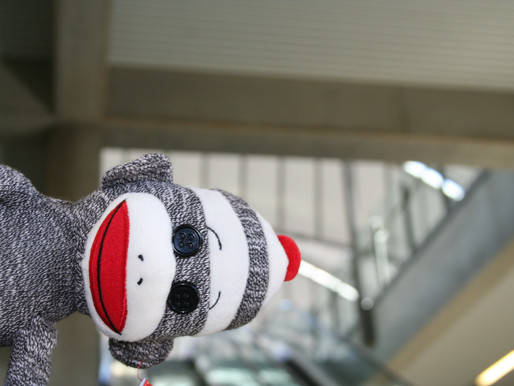 Episode 2: Traveling with a Drunk Sock Monkey