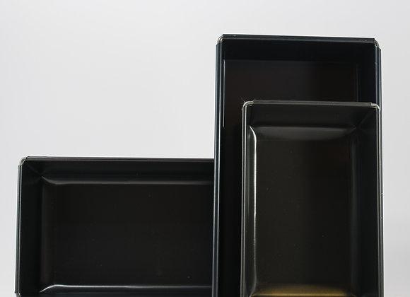 Moule à pain en acier taule noir