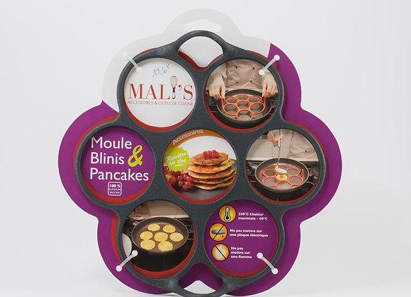 Moule blinis & pancakes
