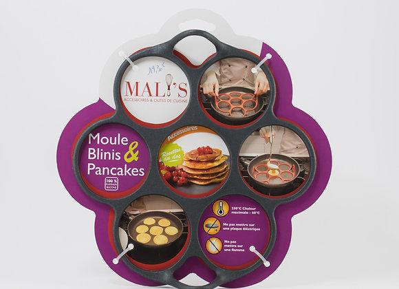Moule blinis & pancakes