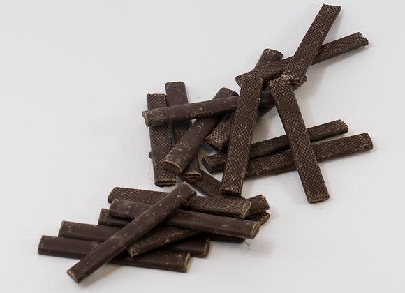 Baton de chocolat à cuire