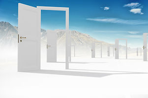 Conceptual image with opened doors as new way entrance to new world.jpg