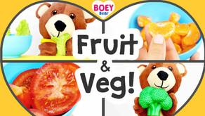 Fruit & Veg... YUMMY! + FREE Printable