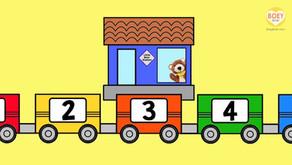 Free Montessori Number Tracing Flashcards