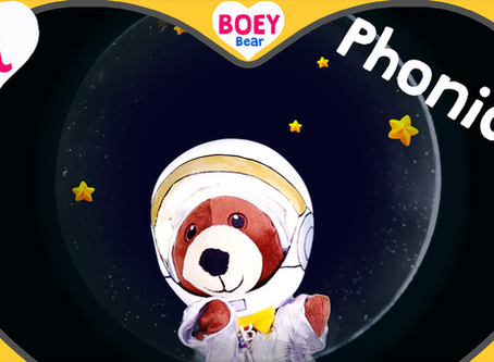 "Astronaut Boey! Learn the phonic letter ""A"""