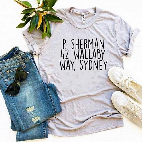 P Sherman T-Shirt / Finding Nemo / Ocean / Wallaby Way