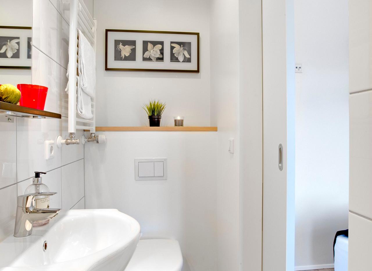 Bathroom in Studio apartment
