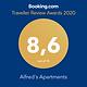 Alfred's Apartments Guest review awards 2020