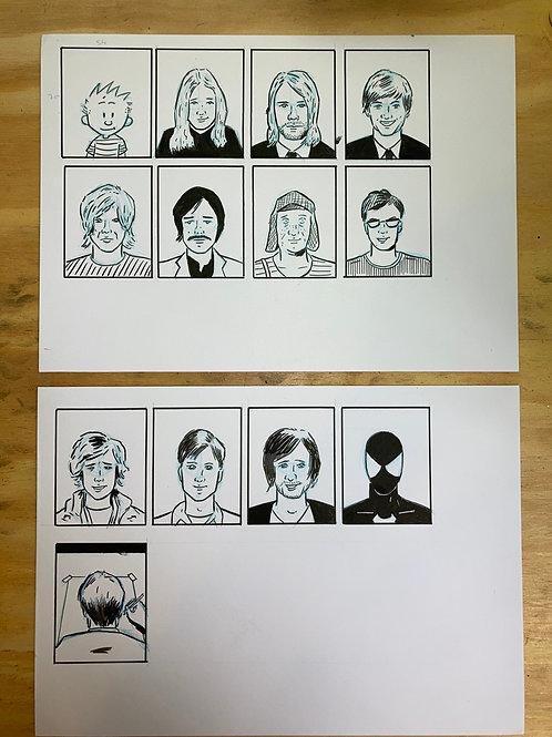Liget 03 - Faces