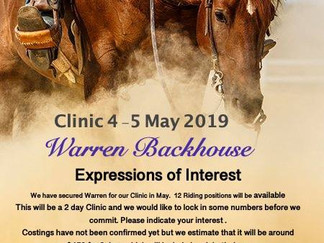 Maryborough & District Western Performance Club Clinic