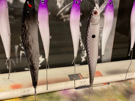 Top three winter lures for bass
