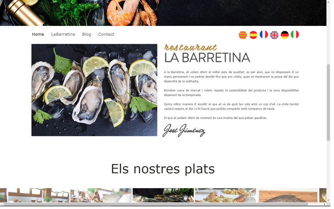 La Barretina online!