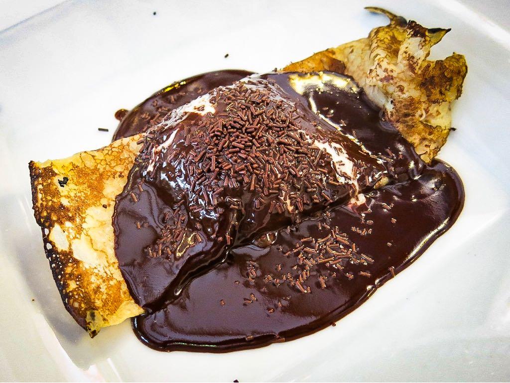 Crepe de xocolata La Barretina