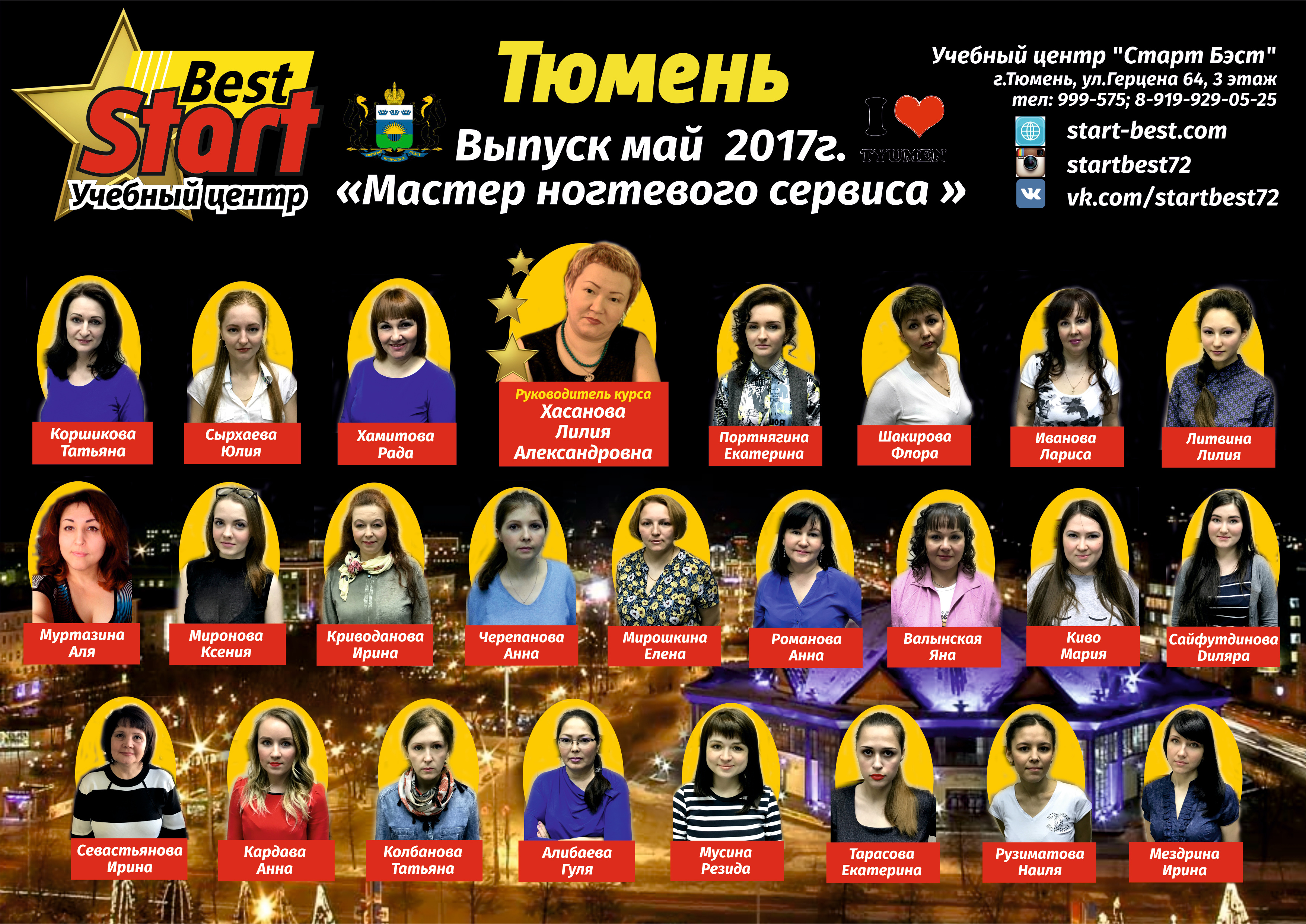 маникюрша май ОБЩЕЕ ФОТО 2017 24 ученика ГОТОВО