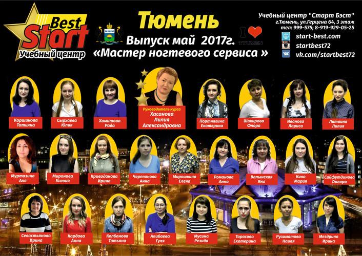 маникюрша май ОБЩЕЕ ФОТО 2017 24 ученика