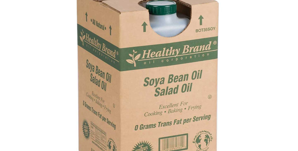 Healthy Brand Soya Bean Salad Oil 35lb/CS