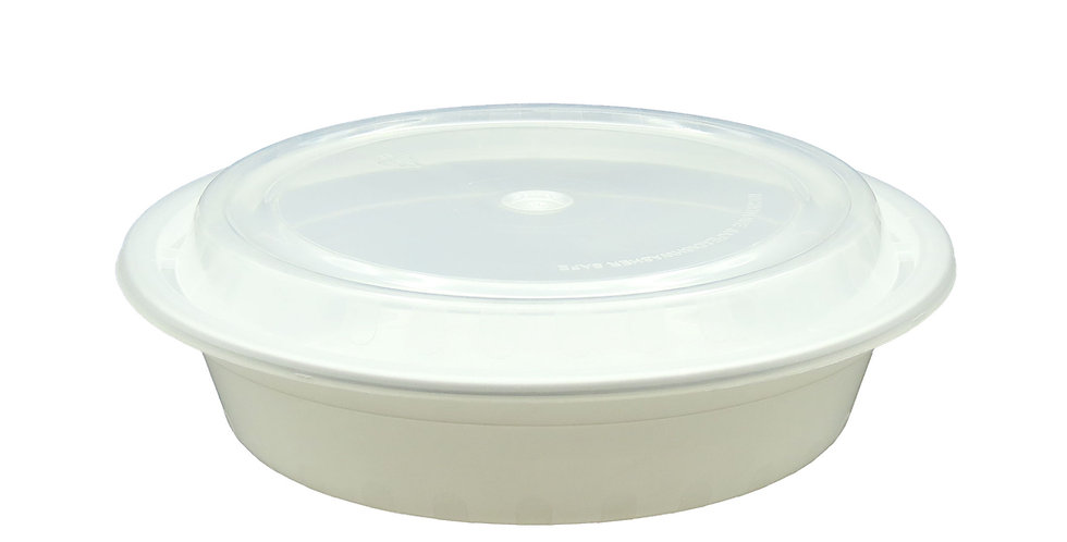 24oz. Round Container 623 150Sets/CS