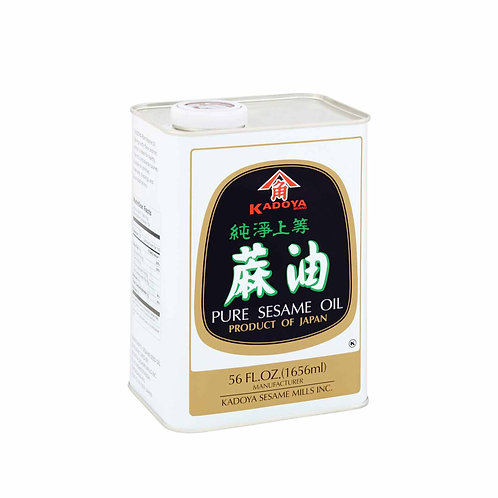 Kadoya Sesame Oil 56oz x 10BT / CS