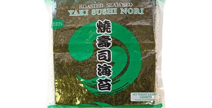 SR Green Nori Halfcut 100shX10PK /CS