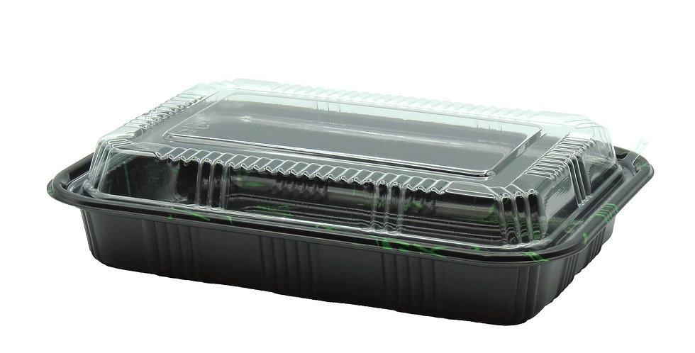 WE 820 Sushi Box w. Lid (3-4 Rolls) 400/Case
