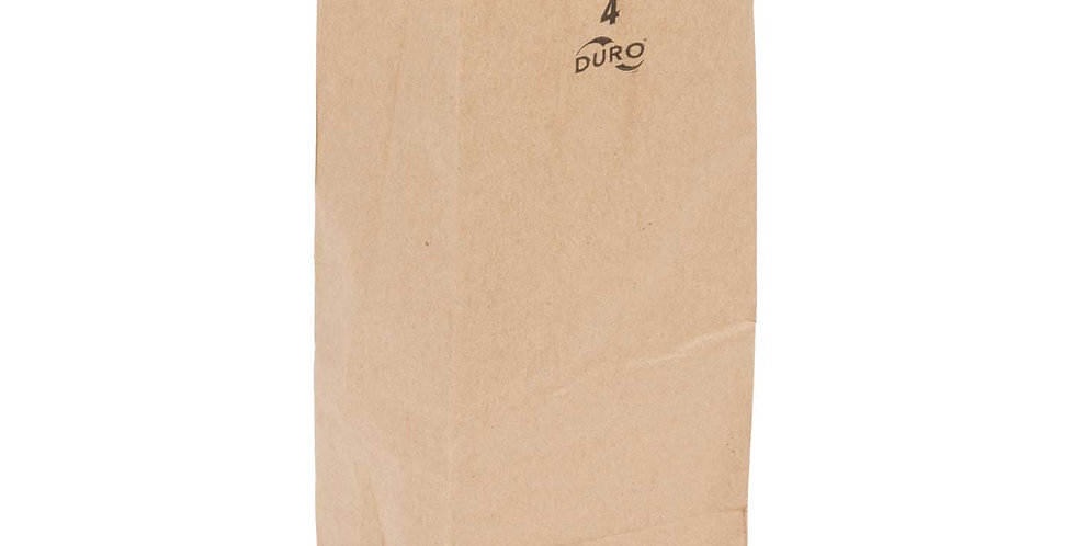 4 lb. Brown Paper Bag 400pcs/CS